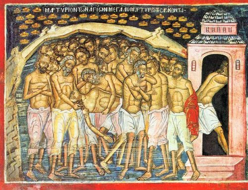 Forty martyrs of Sebaste – 10th of March
