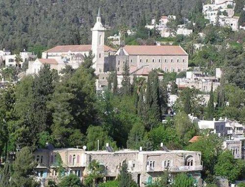 Ain Karim – the city of John the Baptist