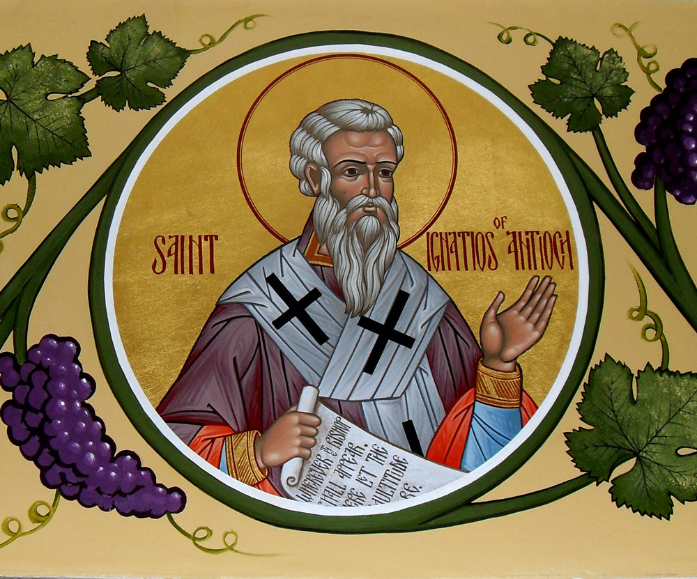 Saint Ignatius of Antioch, Bishop and martyr (+107)