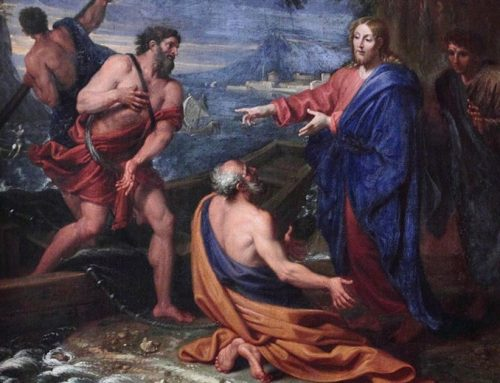 The calling of Peter, Andrew, James & John