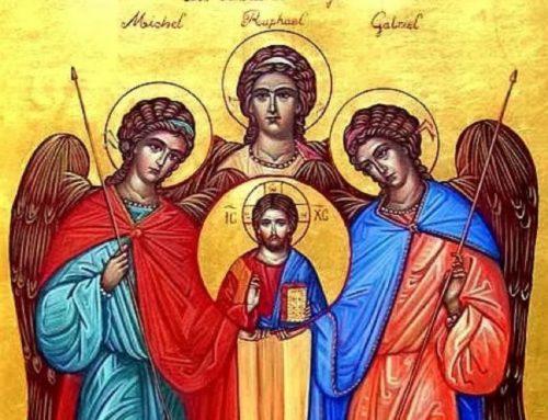 The Archangels: Michael, Gabriel and Raphael  – September 29st