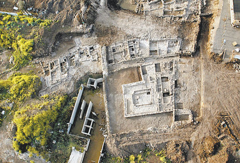 An archaeological park at Mary Magdalene's town