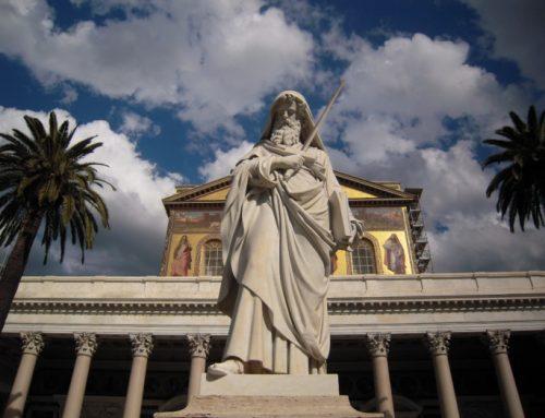Saint Paul outside the walls