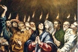"Pentecost – ""The Holy Spirit shows us the way"""