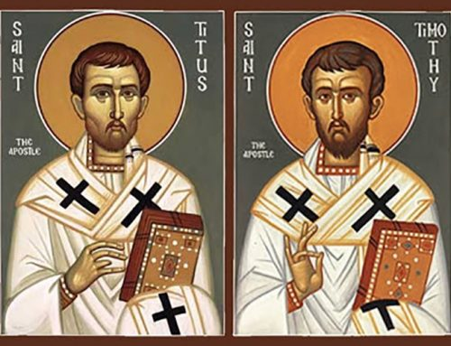 Saints Timothy and Titus – January 26