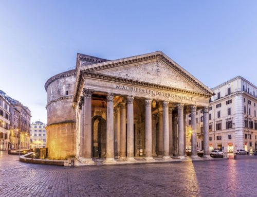 Ancient ruins from time of Roman Empire rediscovered in front of Pantheon
